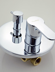 Bathroom 3 Functions In Wall Mounted Faucet Bath and Shower Mixer Valve 17566