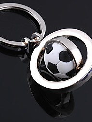 Unisex Alloy Casual Keychain Fashion Revolve Football Key Chains