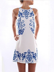 Women's Summer New Fashion Elegant Sleeveless Casual Dress