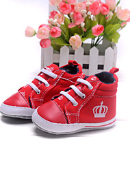 Baby Shoes Dress/Casual Cotton Fashion Sneakers Red