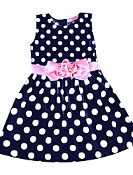 Girl's Doll Collar Princess Dress