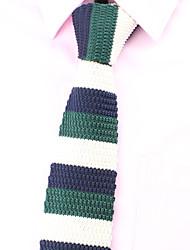 SKTEJOAN®Korean Fashion Stripe Suit Knitted Narrow Ties(Width:5CM)