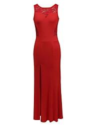 Morefeel Women's Fashion Lace Long Dress