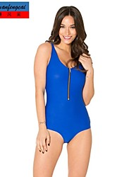 traje de baño sexy traje de baño azul marino de la moda del bikini siamesed playa ocasional del verano del traje de baño ocasional de cmfc®women