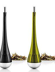 eva preto tempero aço inoxidável solo de chá de ervas infusor esfera do filtro 15.5x3.5x3.5cm