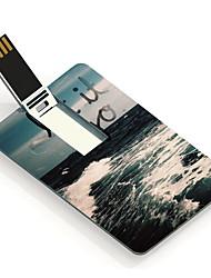 16gb laten gaan ontwerp kaart usb flash drive