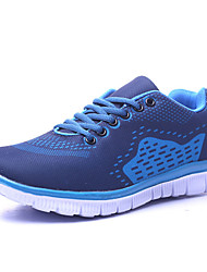 Men's Running Shoes Fabric Blue/Green