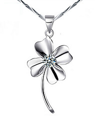 KIKI 925 silver clover Pendant (not including the necklace)