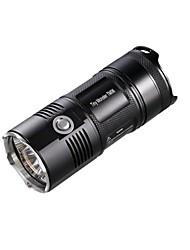 Nitecore® Светодиодные фонари LED 3800 Люмен Режим Cree XM-L2 U2 18650Водонепроницаемый / Ударопрочный / Нескользящий захват / ударный