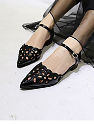Women's Shoes Flat Heel 0-3cm Sandals (Faux Leather)