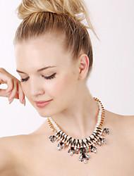 Vanaisd Women's Fashion  High Quality Rhinestone Necklaces