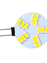 5W G4 Luces LED de Doble Pin 15 SMD 5730 350 lm Blanco Cálido / Blanco Fresco AC 12 V 1 pieza