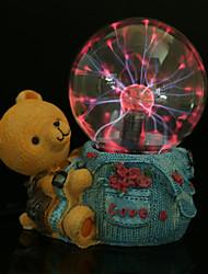 bola mágica pequeno relâmpago urso resina eletrostática