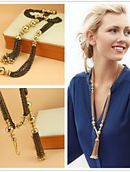 Canlyn  European Korean Fashion Luxurious Tassels Necklace