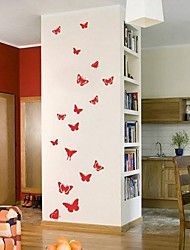 Wall Stickers Wall Decals, Butterflies PVC Wall Stickers.