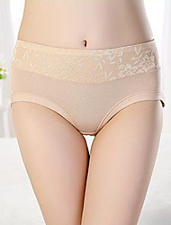 (5Pcs) Women Random Colour Lace/Bamboo Fiber Boy shorts & Briefs Panties
