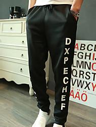 Calças ( Algodão Organico ) MEN - Casual Sem Mangas