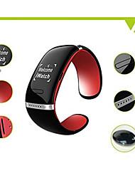 L12S slimme bluetooth v3.0 armband horloge muziekspeler antwoord oproep (assorti kleur)