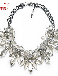 European and American retro luxury jewelry exaggeration necklace short funds decorated banquet gas field