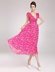Платье - Макси - Шифон - Макси