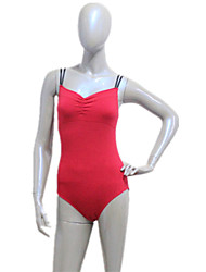 Cotton/Lycra Camisole Leotard with Double Elastics More Colors for Girls and Ladies
