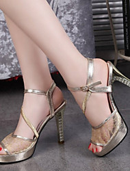 Astrider Women's Shoes Gold/White Stiletto Heel 3-6cm Pumps/Heels