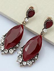 YOONHEEL Women's Fashion High Quality Rhinestone Earrings