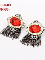 Stud Earrings Women's Cubic Zirconia/Alloy Earring
