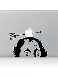 Archery Apple Decorative Skin Sticker for MacBook Air/Pro/Pro with Retina