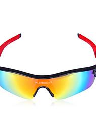 oeste biking® óculos de sol unissex esportes ao ar livre óculos polarizados bicicleta segurança ultralight óculos de ciclismo 5 lente