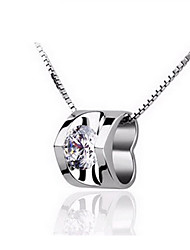 IVA Women's 925 sterling silver plating  pendant necklace (excluding necklace)