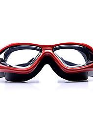 preço de venda Sanqi anti-nevoeiro óculos de natação impermeável vermelho