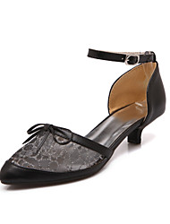 Women's Shoes Synthetic/Leatherette Low Heel Heels/Pointed Toe/Closed Toe Pumps/Heels/Loafers Outdoor