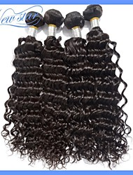 New Star Cheap Products Deep Wave Peruvian Remy Virgin Human Hair Extensions Natural Color