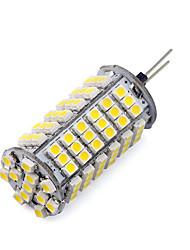 1 PC g4 8.5w 120smd 3528 850-900lm 2800-3500 / 6000-6500k calientes / refrescan los bulbos blancos del maíz dc 12v
