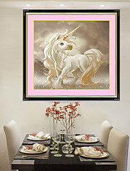 Unicorn Products For Crafts Living Room Diamond Cross Stitch Needlework Wall Home Decor 30*30cm