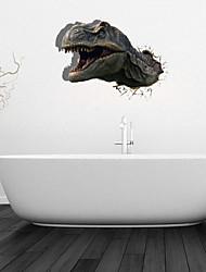 3d Stickers muraux stickers muraux, dinosaures décoration salle de bain murale PVC Stickers muraux