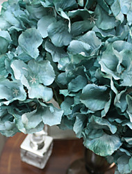 "19.7""L Blue Large Hydrangea 5 bifurcation For Home Decorative"