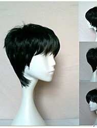 Newest Woman's Synthetic Hair Wigs Short Straight  Natural Animated Wigs Cosplay Wig Party Wigs 2 Colors