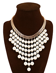 Vintage/Party/Work/Casual Alloy/Imitation Pearl Statement