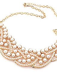 Vintage/Cute/Party/Work/Casual Alloy/Imitation Pearl Collar