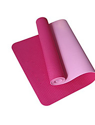 Non Slip Extra Long Non Toxic Widende Yoga Mats 8 mm Pink/Green/Purple/Red NBR Yoga Mat