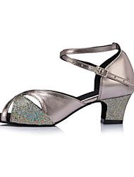Sapatos de Dança ( Cinzento ) - Mulheres - Não Personalizável - Latim