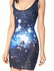 Fair Lady®Leggings galaxy JPL-Caltech 180gsm Milk Fiber Lady Jumper Skirt