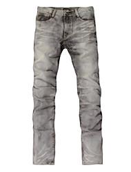 Grey white jeans