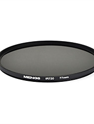 MENGS® 77mm Infrared Filter IR 720nm With Aluminum Frame For Camera