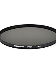 mengs® 77 millimetri infrarossi 720nm filtro IR con telaio in alluminio per la macchina fotografica
