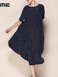 Médio - Vestido - Seda - Sem Forro