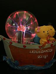 ursinho iluminação decorativa indução eletrostática bola relâmpago