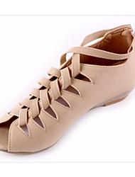 Women's Shoes Low Heel Peep Toe Sandals Office & Career/Dress Black/Pink/White/Beige